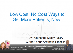 low cost marketing for new patients