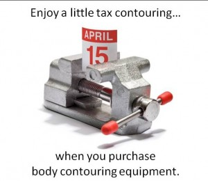 Enjoy a little tax contouring with Total Body Contouring