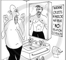 Male cosmetic surgery cartoon